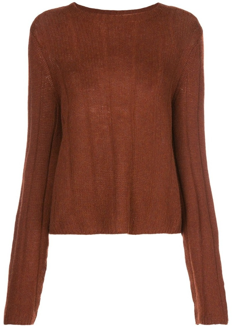 Khaite Nelley ribbed relaxed-fit jumper