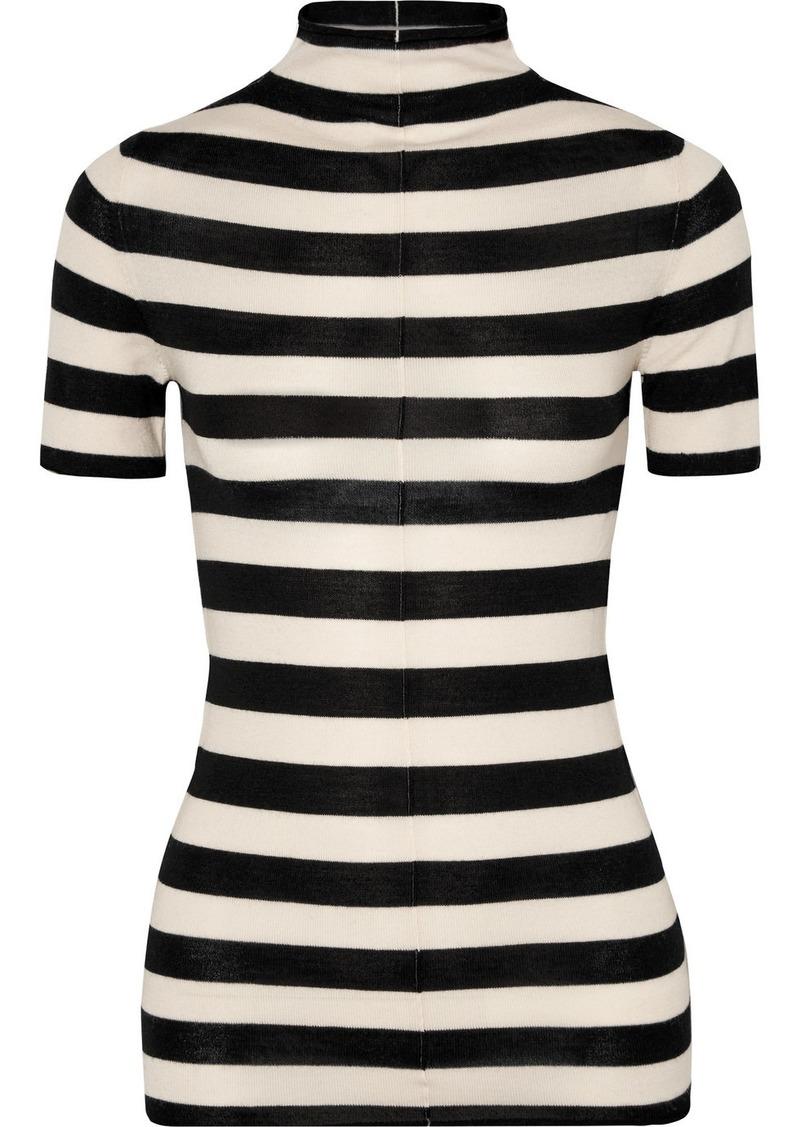 Khaite Nidia Striped Wool Sweater