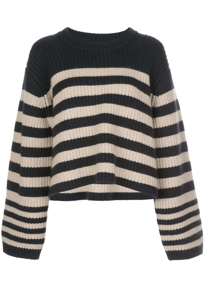 Khaite oversized stripe jumper
