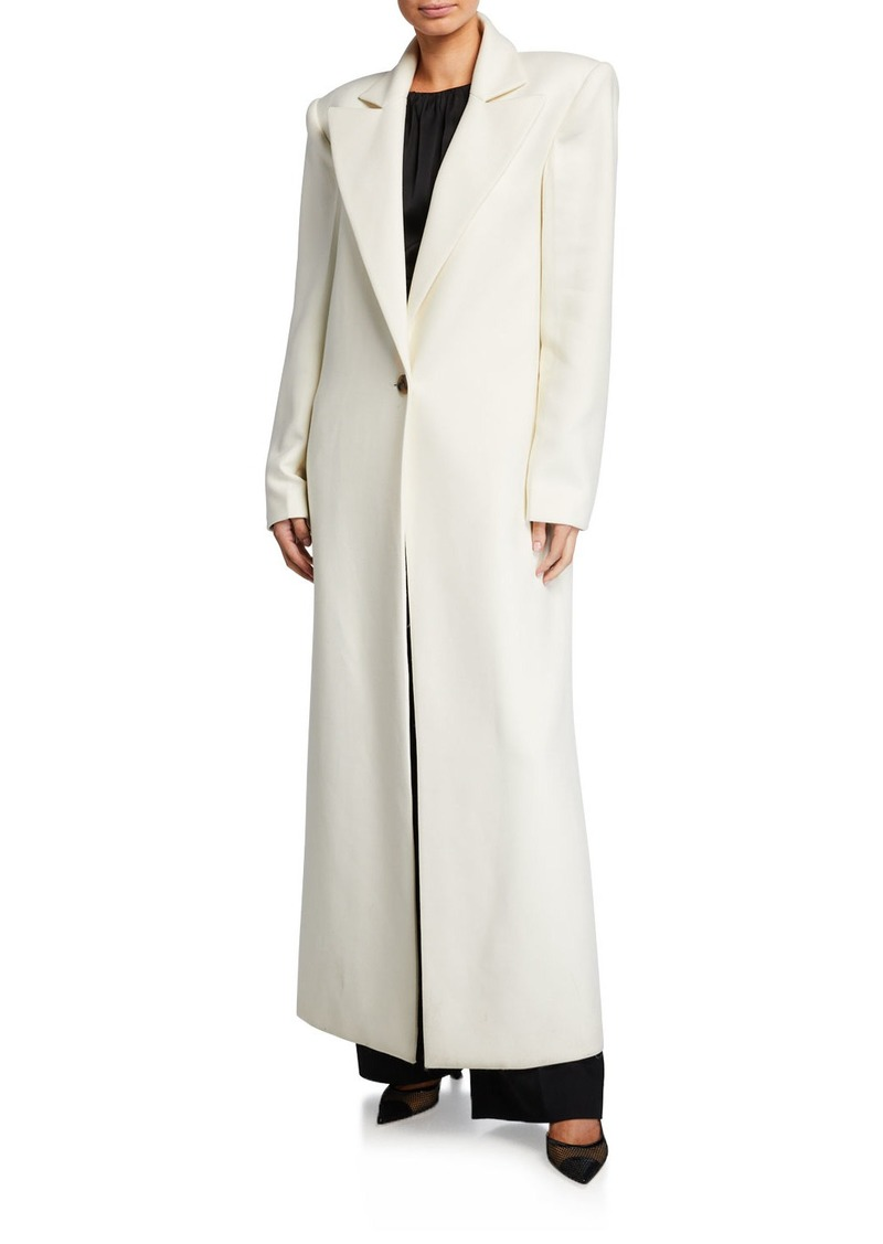 Khaite Rania Long Overcoat