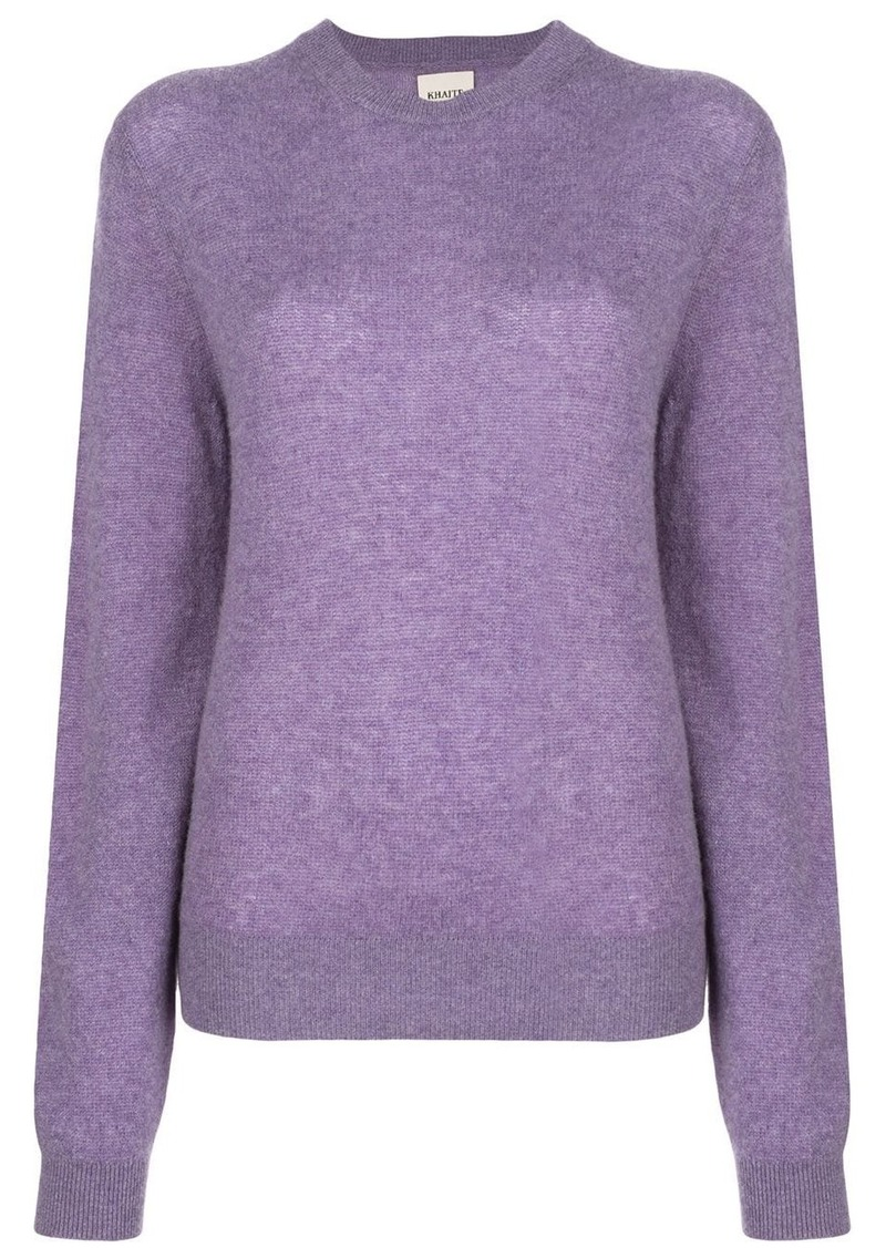 Khaite Viola relaxed-fit wool jumper