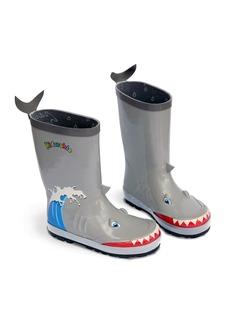 Kidorable Boys' Big Shark Rain Boots