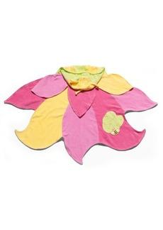 Kidorable Big Girl Lotus Flowers Towel