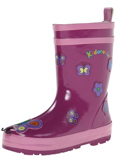 Kidorable Baby Girls' Butterfly Rain Boot (Toddler/Kid)  9 M US