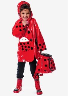 Kidorable Ladybug Raincoat, Little Girls