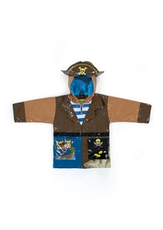 Kidorable Little Boys' Pirate All Weather Waterproof Coat  Size 6/6X