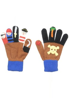 Kidorable Little Boys' Pirate Gloves Brown Large