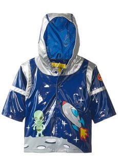 Kidorable Little Boys' Space Hero All Weather Waterproof Coat  Size 12-18 Months
