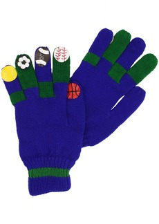 Kidorable  Sports Soft Acrylic Gloves for Boys With Soccer Football and More