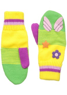 Kidorable /Yellow Soft Acrylic Fairy Mittens for Girls With Fun Fairy Wings Large (Ages 9+)