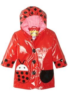 Kidorable Little Girls' Ladybug All Weather Waterproof Coat  Size 6/6X