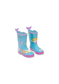 Kidorable Little Girls Mermaid Rain Boots