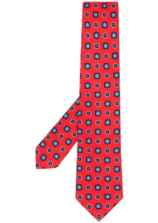Kiton abstract-print tie