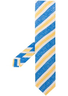Kiton Azul striped tie