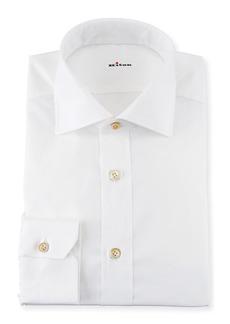 Kiton Broadcloth Dress Shirt