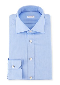 Kiton Broadcloth Dress Shirt