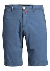 Kiton Chambray Slim Shorts