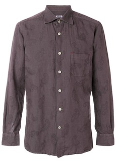 Kiton classic button front shirt