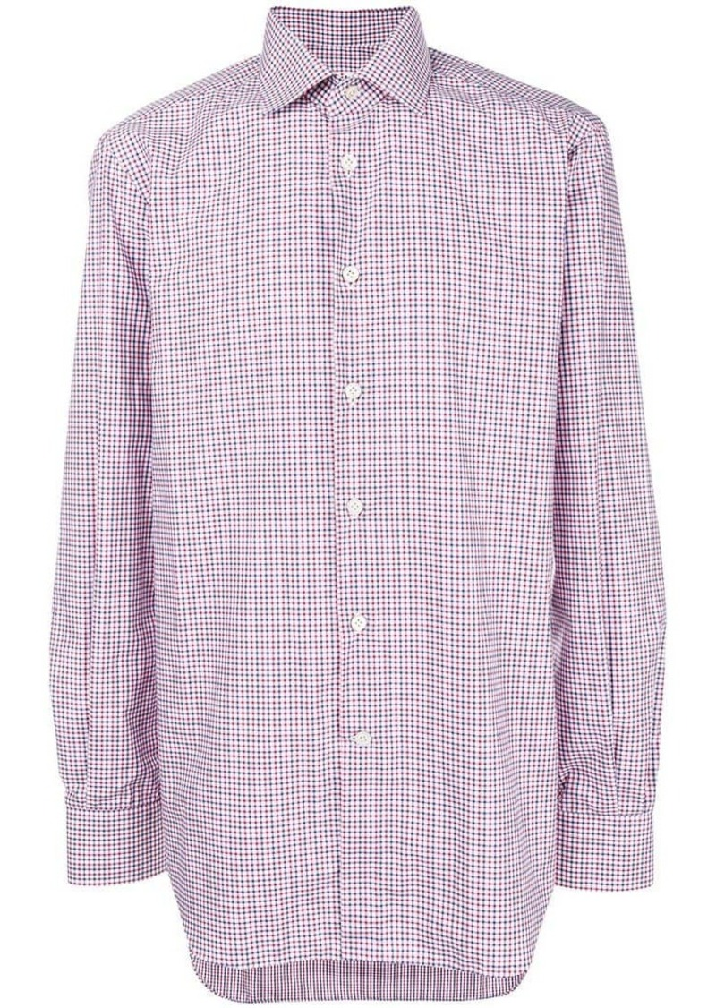 Kiton classic collared shirt