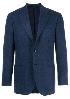 Kiton classic fitted blazer