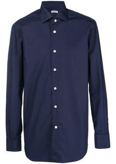 Kiton classic plain shirt