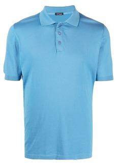 Kiton cotton polo shirt