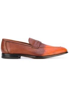 Kiton degradé penny loafers