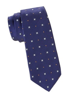 Kiton Diamond Silk Tie
