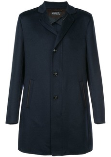 Kiton double pocket single-breasted coat