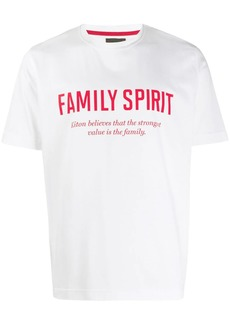 Kiton Family Spirit print T-shirt