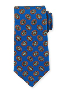 Kiton Fancy Ovals Silk Tie
