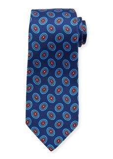 Kiton Fancy Ovals Silk Tie