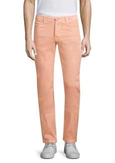 Kiton Five-Pocket Linen-Blend Jeans