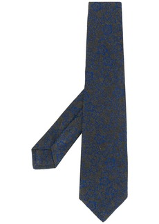 Kiton floral patterned tie