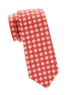 Kiton Floral Silk Blend Tie