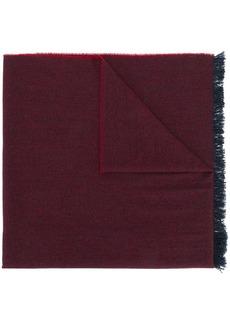Kiton fringed edge scarf