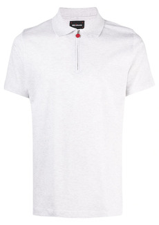 Kiton half-zip polo shirt
