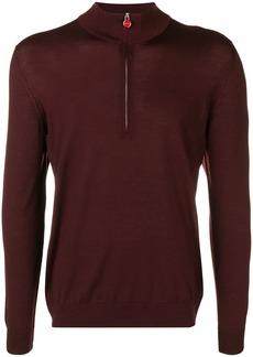 Kiton half-zip sweater