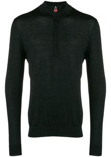 Kiton half zip sweater