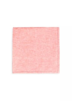 Kiton Heathered Silk Pocket Square