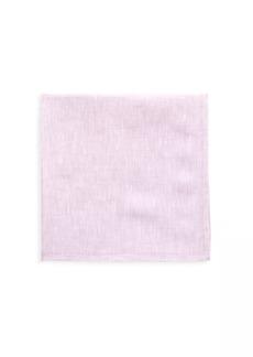 Kiton Heathered Silk Pocket Square