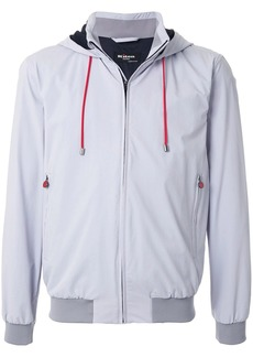 Kiton hooded track jacket