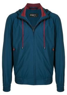 Kiton hooded zip jacket