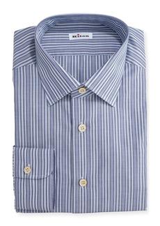 Kiton Alternating-Stripe Dress Shirt