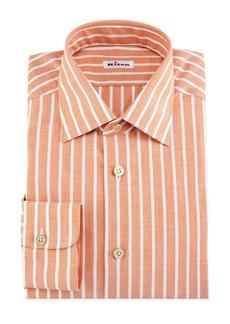 Kiton Bold-Stripe Dress Shirt