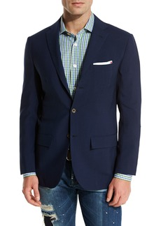 Kiton Cashmere Three-Button Sport Coat