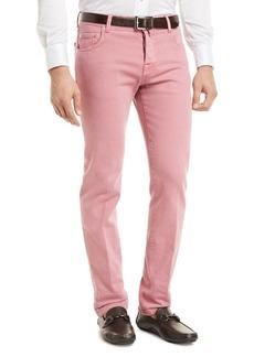 Kiton Denim Five-Pocket Jeans