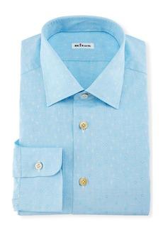 Kiton Diamond Dobby Dress Shirt