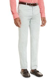 Kiton Flat-Front Chino Trousers