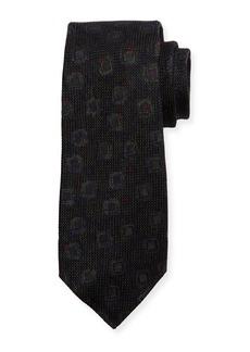 Kiton Grenadine Woven Silk Tie